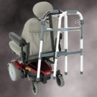 Walker Holder for Power Chairs