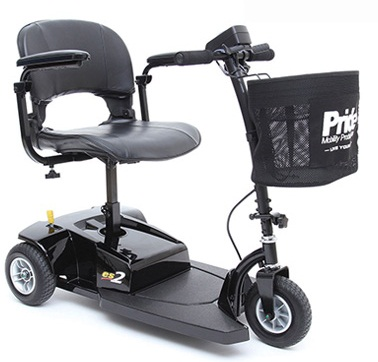Pride Go Go ES 2 -3 Wheel Travel Scooter