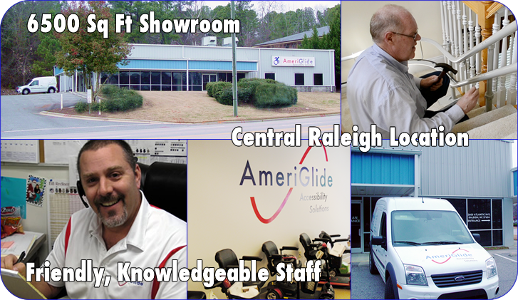 AmeriGlide Accessibility Raleigh Showroom